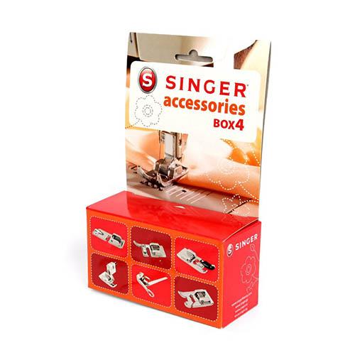 Accesorios Set Singer n4 - accesorios esenciales