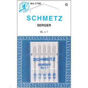 Agujas Schmetz para Remalladora - (BLX1)