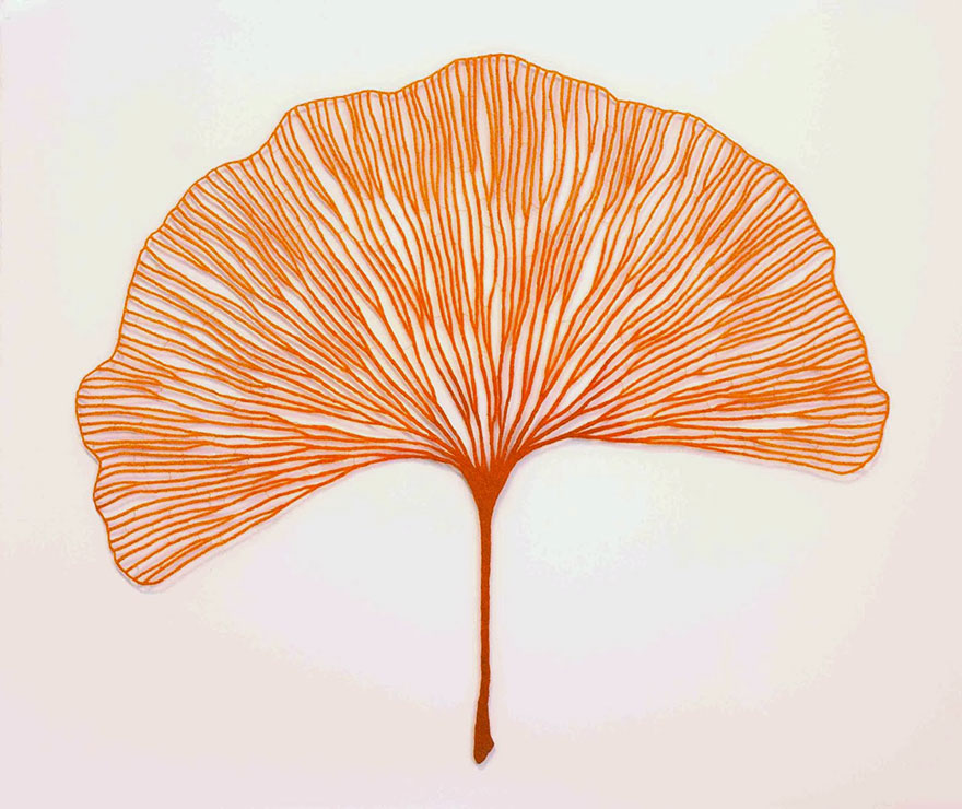 Artista borda las formas más bonitas de la naturaleza 11
