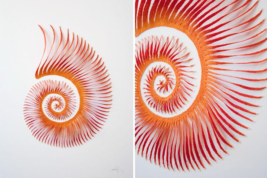 Artista borda las formas más bonitas de la naturaleza 21