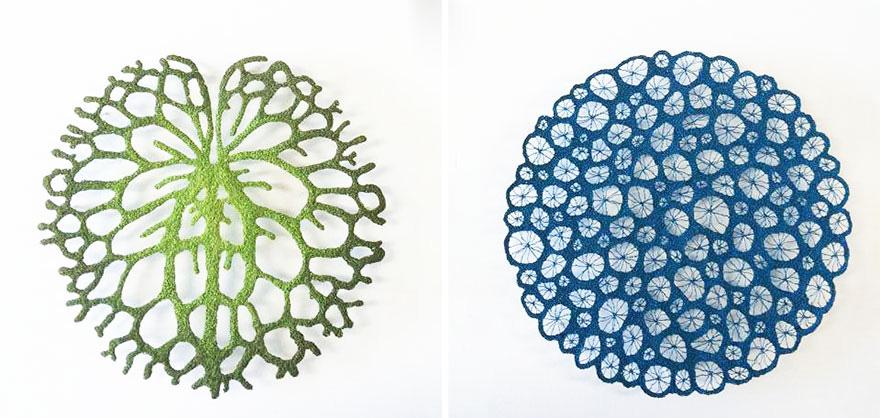 Artista borda las formas más bonitas de la naturaleza 26