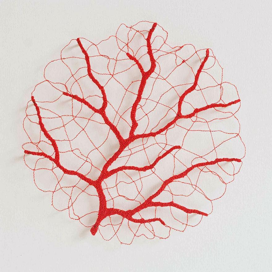 Artista borda las formas más bonitas de la naturaleza 5