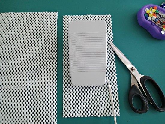 Coser una almohadilla antideslizante medidas