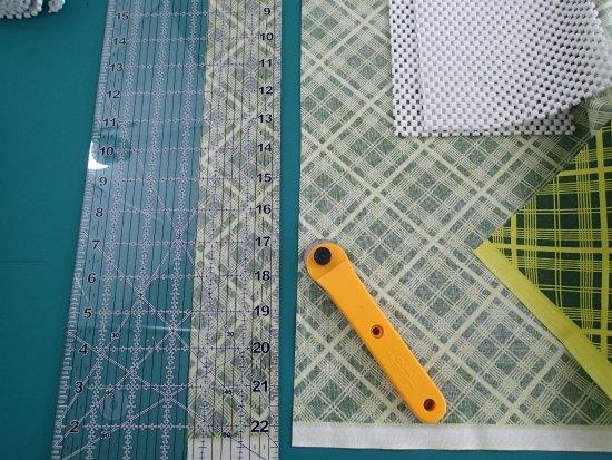 Coser una almohadilla antideslizante patron