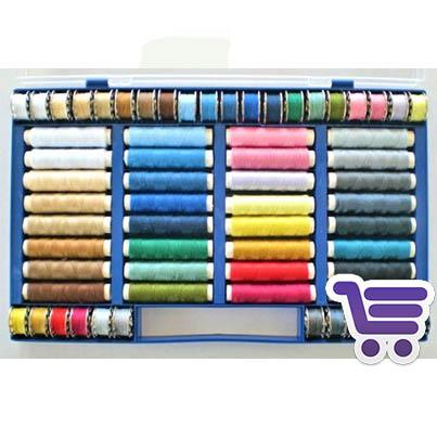 Juego de 64 hilos de colores | Accesorios | MundoCosturas.es