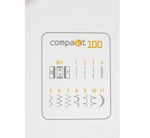 Alfa Compakt 100 puntadas