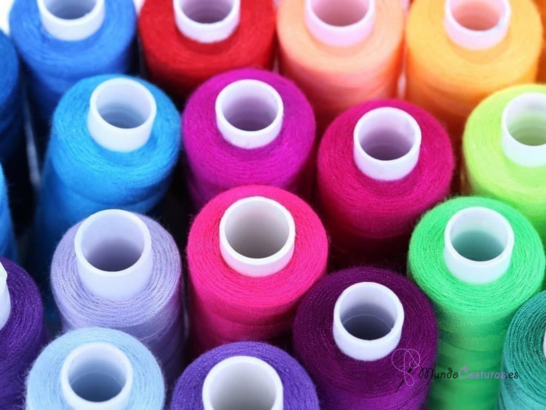 El hilo en las máquinas de coser