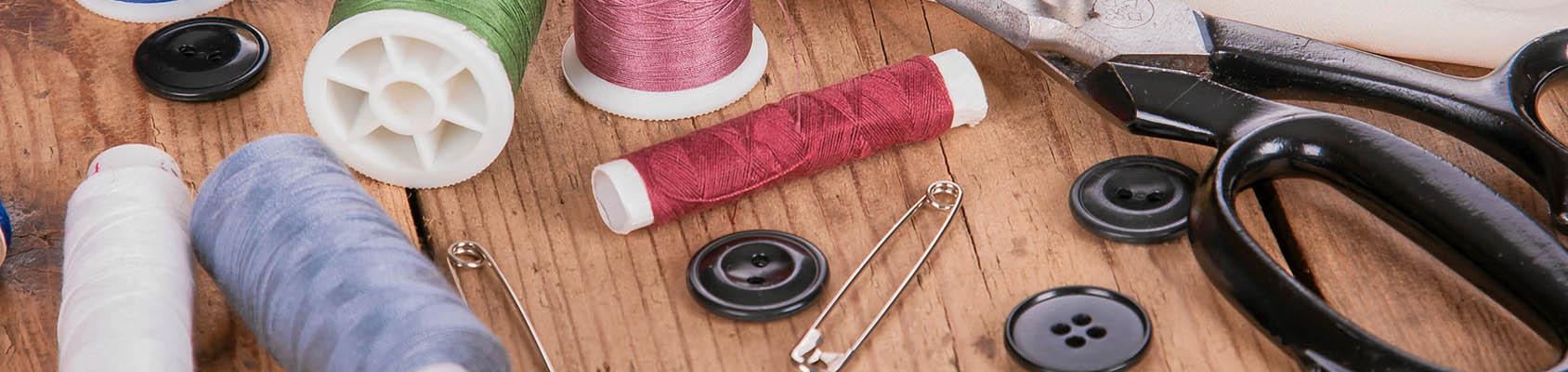 Elementos esenciales para tu máquina de coser