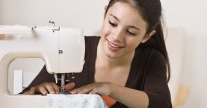 coser como aficción