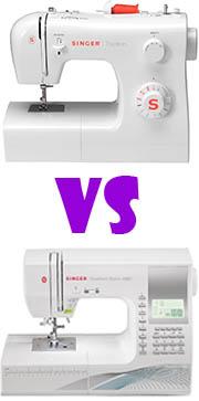 máquinas de coser eléctricas vs máquinas de coser electrónicas