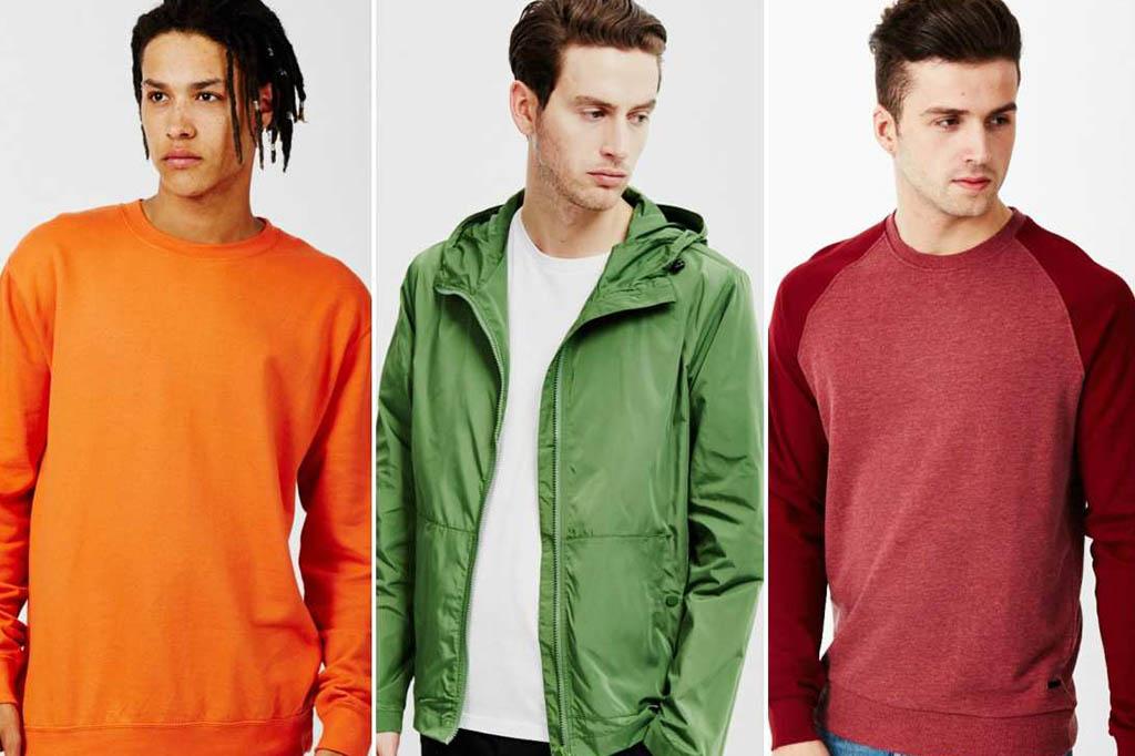 colores secundarios ropa
