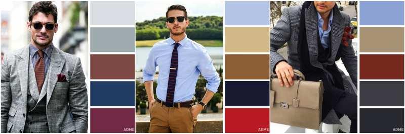combinación de tonos ropa