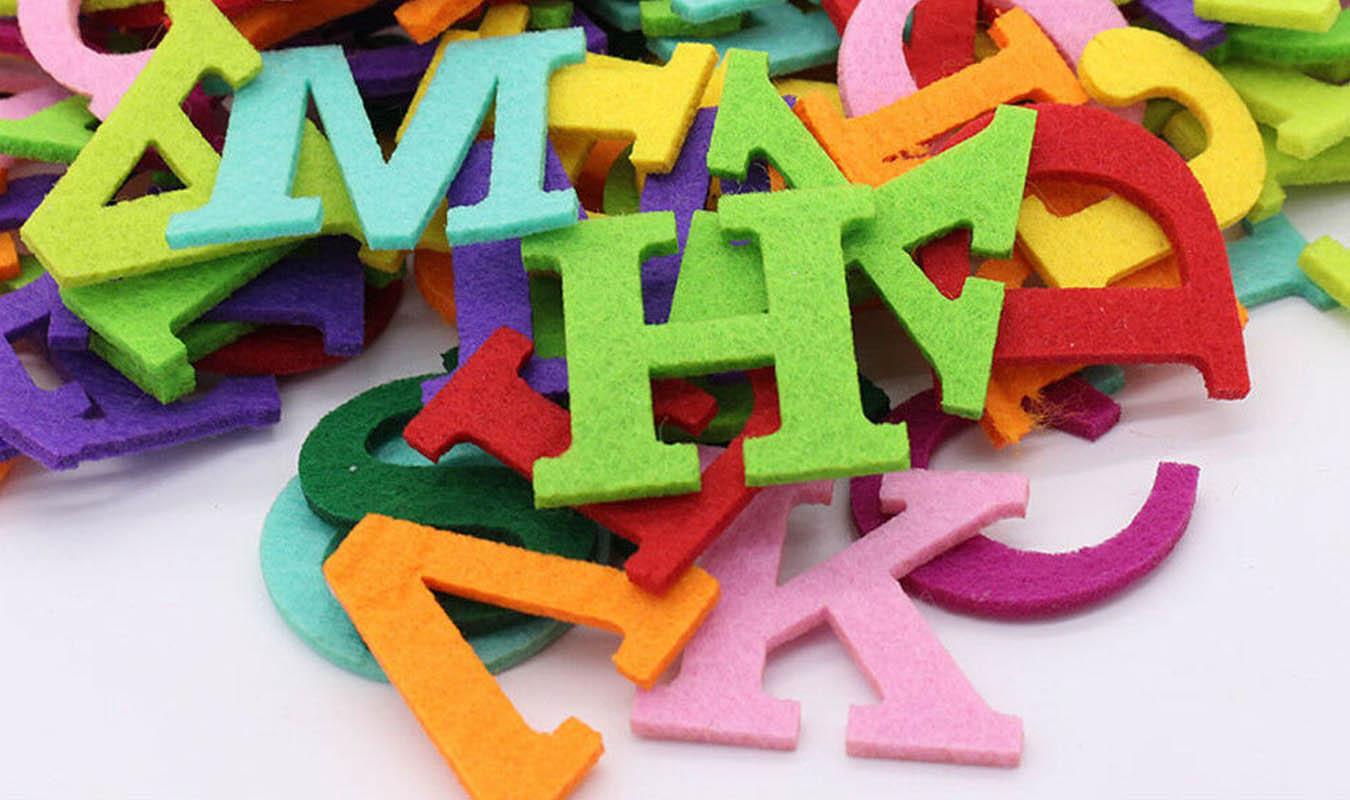 Máquinas de coser con alfabeto