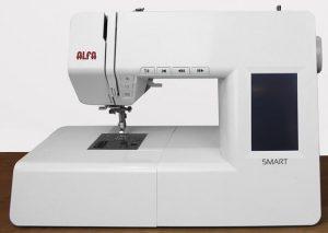 alfa smart plus máquina de coser electrónica