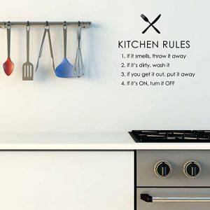 cocina etiquetada