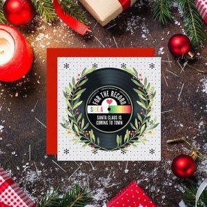 tarjeta de navidad plotter de corte