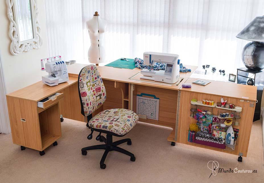 los mejores gabinetes para máquinas de coser